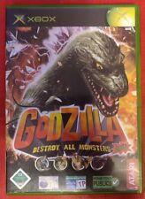 Godzilla Destroy All Monsters Melee Original Xbox PAL RARE Original Xbox Game...