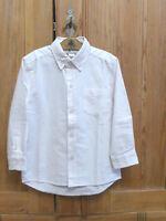 ♥ GIRANDOLA - festliches Hemd weiß - sehr elegant - GRD Gr 4 - 104/110 Anzughemd