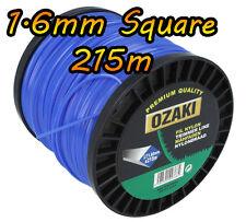 215m x 1.6mm Square-Decespugliatore Cavo Linea Filo-Flymo BOSCH Stihl BLACK & DECKER