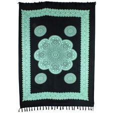 Sarong Wrap Skirt Beachwear Swim Cover Dress Flower Mandala Print Scarf Rayon