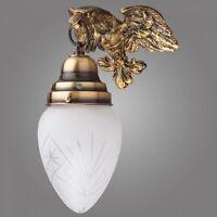 Exklusive Wandlampe Ouro aus Messing / klassisch Wandleuchte / Antik - Stil