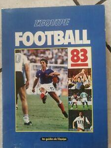 LES GUIDES DE L'EQUIPE FOOTBALL 1983 Division 1 2 , Giresse , Rocheteau