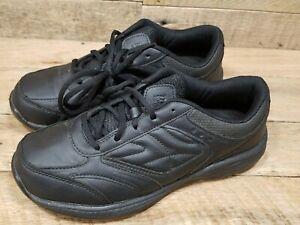 "TredSafe Womens 7.5"" Slip & Oil Resistant Shoes Black Good Used Shape"
