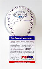 JOSH HAMILTON TEXAS RANGERS SIGNED 2008 ALL STAR GAME BASEBALL PSA COA U78687