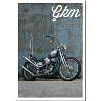 Greasy Kulture Magazine 60 Harley Triumph Sporty Ironhead Panhead BSA GKM