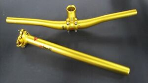 Cinelli Fixed Gold Line Bundle! Very rare edition: Ant, Pepper and Seatpost, NOS