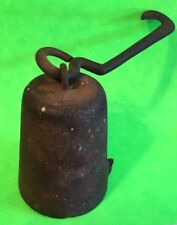 ANTIQUE CAST IRON - Horse Tether - Weight - Buggy tie Down - Farm Item Collect
