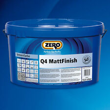 ZERO Q4 MattFinish 5 Liter weiß -Premium Dispersionsfarbe-508309010