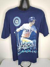 Rare Vintage 90s Pro Player Joey Cora Seattle WA Mariners Tshirt XL MLB Baseball