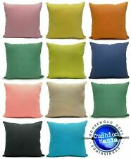 Large Cushion or Cover Outdoor Indoor PLAIN linen hard wearing pillow Cushions