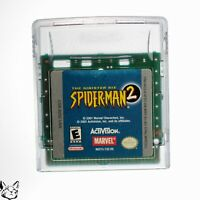 Spider-Man 2 the Sinister Six [Nintendo Game Boy Color Mysterio Sandman Vulture