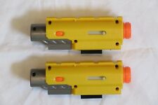 EXCELLENT Lot of 2 Nerf N-Strike Recon Red Laser Dot Tactical Light Attachment