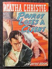 1945 POIROT LOSES A CLIENT by Agatha Christie VG+ 4.5 1st Avon 70 Paperback