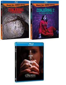 THE CONJURING collection (3 film in BLU-RAY) Edizione Italiana
