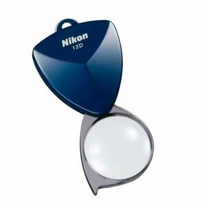 Nikon New Pocket Loupe 12D (3x) N12DMB Midnight blue from Japan