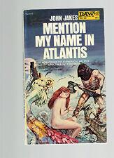 JOHN JAKES pb Mention My Name in Atlantis  gga Jack Gaughan