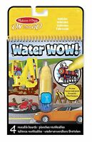 VEHICLES - Melissa & Doug On The Go Water Wow! Travel Activity Book
