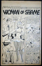 ++ 7 PAGE PRE-CODE ROMANCE STORY - SEXY WOMAN IN SKIMPY OUTFIT - COSTANZA ART?