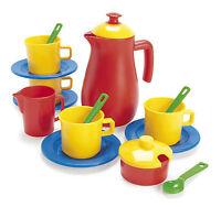 KIDS CHILDRENS PLAY COFFEE SET by DANTOY 17 piece coffee set - roleplay kitchen