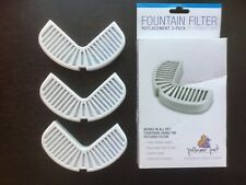 Pet Replacement Filters For Ceramic And Stainless Steel Fountains 3-Pack