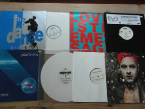 """A COLLECTION OF HOUSE,TRANCE,TEKNO,HIP-HOP,GARAGE 12"""" SINGLES x 8-2000's VG-EX-4"""
