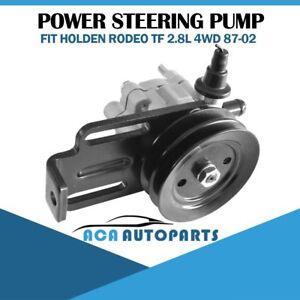 Power Steering Pump For Holden Rodeo TF Monterey Jackaroo Isuzu 88-02 w/ Pulley
