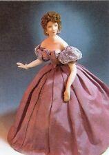 1:12 scale Miniature Doll Art Tutorials ~ Patterns ~ Clothes/Hair/& more ANNA