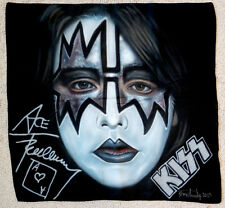 Original KISS / ACE FREHLEY Airbrush Painting on Fabric Canvas by Don Armstrong