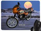 Tapis De Souris Avec Moto motif: Zündapp modèle REPOSE-POIGNETS BIKE
