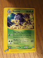 Pokemon Tcg Expedition - Weezing #70/165 Nm/Mint