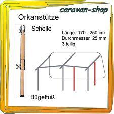 Orkanstütze 25 mm Zelt-Stange Gestänge Zeltstangen Vorzelt Wohnwagen caravan