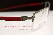 Brand New TAG Heuer Eyeglasses Frames AUTOMATIC 0821 006 GUNMETAL/BURG for Men