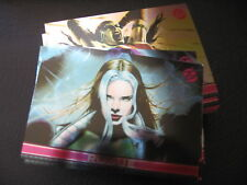 2011 MARVEL DANGEROUS DIVAS FOIL PARALLEL TRADING CARD SET