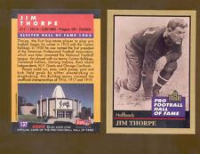 1991 Enor JIM THORPE Hall of Fame Card Mint