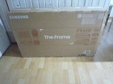 "Samsung QLED 4K The Frame (2020) GQ43LS03TAU 43"" (108 cm) Smart TV NEU + OVP"