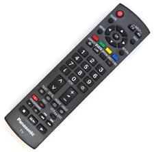 Genuine PANASONIC EUR7651110 TV Remote (Compatible TH,TX Models Shown)