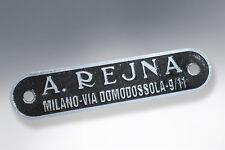 Vespa Seat Badge A.Rejna