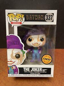 Funko Pop Batman The Joker 1989 Chase (Damaged Box) EM6356