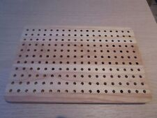 BLOCKING BOARD - SOLID WOOD - FOR KNITTING & CROCHET PROJECTS