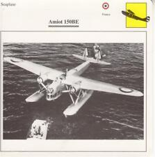 D10758919  Warplane Collectors Card. French Seaplane.Amiot 150BE