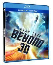 STAR TREK BEYOND 3D (BLU-RAY 3D + BLU-RAY) Chris Pine, Zoe Saldana, Simon Pegg