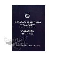 BMW Motorcycle Book Workshop Repair Manual R26 R27