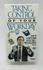 CAREERTRACK: TAKING CONTROL OF YOUR WORKDAY 3-TAPE VHS SET, DICK LOHR, ACHIEVE