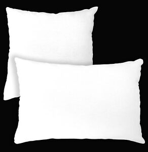 Aa132a Plain Solid White Cotton Canvas Cushion Cover/Pillow Case*Custom Size*