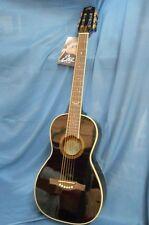 Eko NXT Parlor Black Acoustic Guitar - GD0074