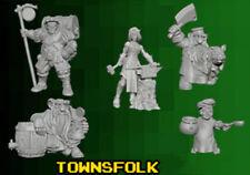Reaper Miniatures - Bones 3 Kickstarter - 5 Townsfolk
