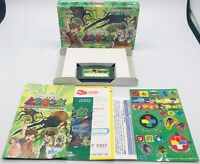 Nintendo Game Boy Advance GBA Konchu Ouja - Mushiking Japan US Seller