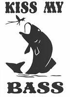 mer Pêche Voiture Van bateaux pêche à la mouche carpe siège Boîtes Decal Autocollant