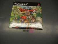 PLAYSTATION 2 PS2 DRAGON QUEST VIII JOURNEY OF THE CURSED KING DEMO DISC SEAL