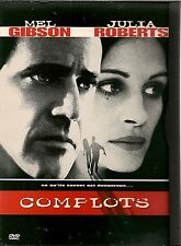 "DVD ""COMPLOTS"" - MEL GIBSON - JULIA ROBERTS -  neuf sous blister"